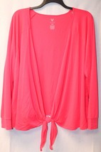 NEW LIVI WOMENS PLUS SIZE 4X STUDIO OVERPIECE TIE OR OPEN FRONT CARDIGAN  - $14.50