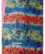 Cotton Spandex Stretch Denim FABRIC~Batik Desig... - $59.39