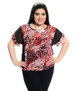 Short sleeve plus size blouse - $13.99