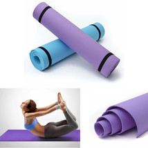 """10mm Thick EVA Yoga Mat Non-Slip Exercise Fitness Pad Lose Weight 68""""x24... - $11.99"""