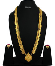 Womens Trendz Traditional, Ethnic and Antique 24K Gold Plated  Necklace and Earr - $57.00