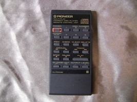 Pioneer Compact Disc Player Remote Control CU-PD039 - $8.99