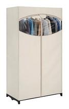 Essential Home Portable Clothes Closet Wardrobes Organization Storage Ga... - $20.36