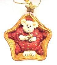 "Boyds Longaberger Ornament ""Twinkles Starbeary"" #25777LB- Longaberger Ex... - $26.99"