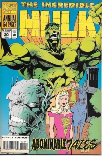 The Incredible Hulk Comic Book Annual #20 Marvel 1994 NEAR MINT NEW UNREAD