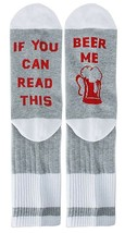 YEXIPO Novelty Funny Socks If You Can Read This Wine Socks Coffee Crew C... - $14.24