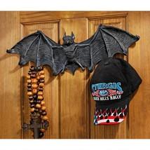 Large: Count Dracula Vampire Bat Gothic Halloween Decor Wall Sculpt Key ... - £52.27 GBP