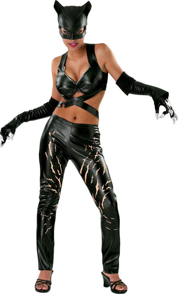 Catwoman Deluxe Costume DC Comics Sm-Med-Lg Ships Free