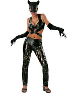 Catwoman Deluxe Costume DC Comics Sm-Med-Lg Ships Free - $24.95