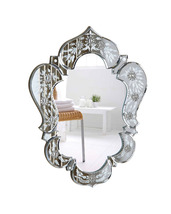 "Elegant Lighting 25.6""H Venetian Mirror - Clear - $130.00"