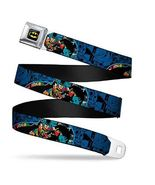 Batman Action Collage Seatbelt Belt Adjustable Waist - $22.95+