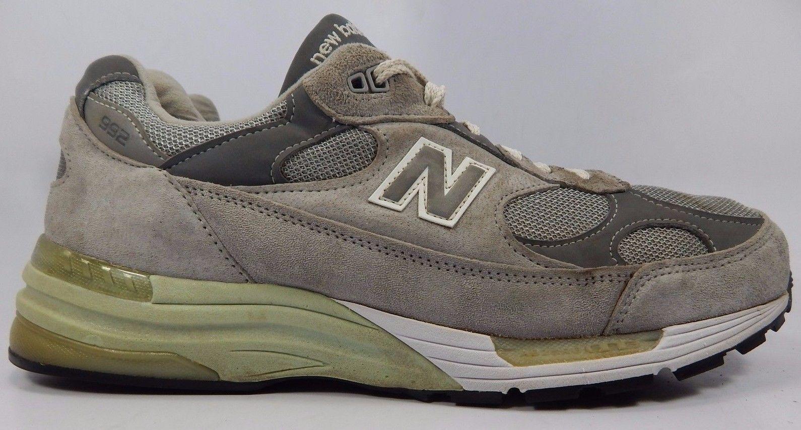 quality design 6f4c2 f116e ... good new balance 992 mens running shoes size us 12 2e wide eu 46.5 gray  m992gl