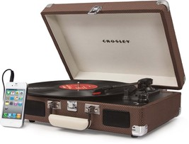 Crosley Cruiser 3 Speed Portable Turntable Vinyl Gramophone Record Player Modern - $109.99