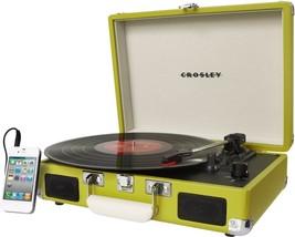 Crosley Cruiser Portable Turntable Vinyl Modern Record Player 3 Speed Gramophone - $189.99