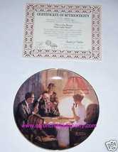 Norman Rockwell  Collector Plate Room that Light Made Bradford Exchange ... - $16.97