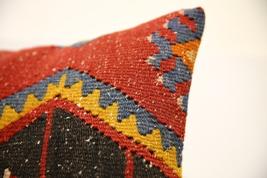 Kilim Pillows |16x16 | Decorative Pillows | 1565 | Accent Pillows turkis... - $49.00