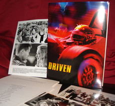 'DRIVEN' Press Kit with Glossy Photos, Slides, Sylvester Stallone - $16.95