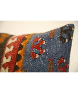 Kilim Pillows |16x16 | Decorative Pillows | 1581 | Accent Pillows turkis... - $49.00