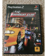 Midnight Club Street Racing (Playstation 2) PS2 Cmplt w/Manual - $17.99