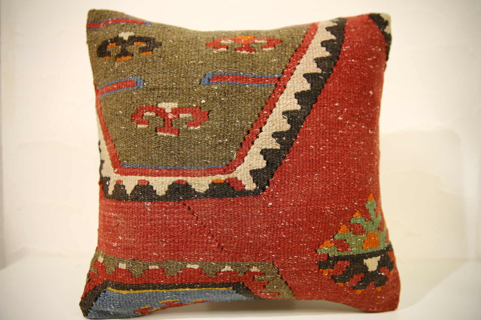 Turkish Kilim Throw Pillows : Kilim Pillows 16x16 Decorative Pillows 1594 Accent Pillows turkish pillow- KILIM PILLWOW ...