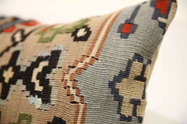 Kilim Pillows |16x16 | Decorative Pillows | 1600 | Accent Pillows turkis... - $49.00