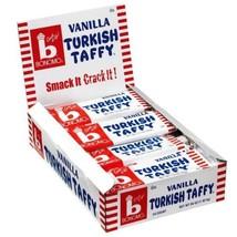 Bonomo Vanilla Turkish Taffy - 24 ct Display Box - $21.87