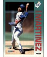 1992 Fleer #463 Ramon Martinez BLANK BACK -Los Angeles Dodgers- - $3.00