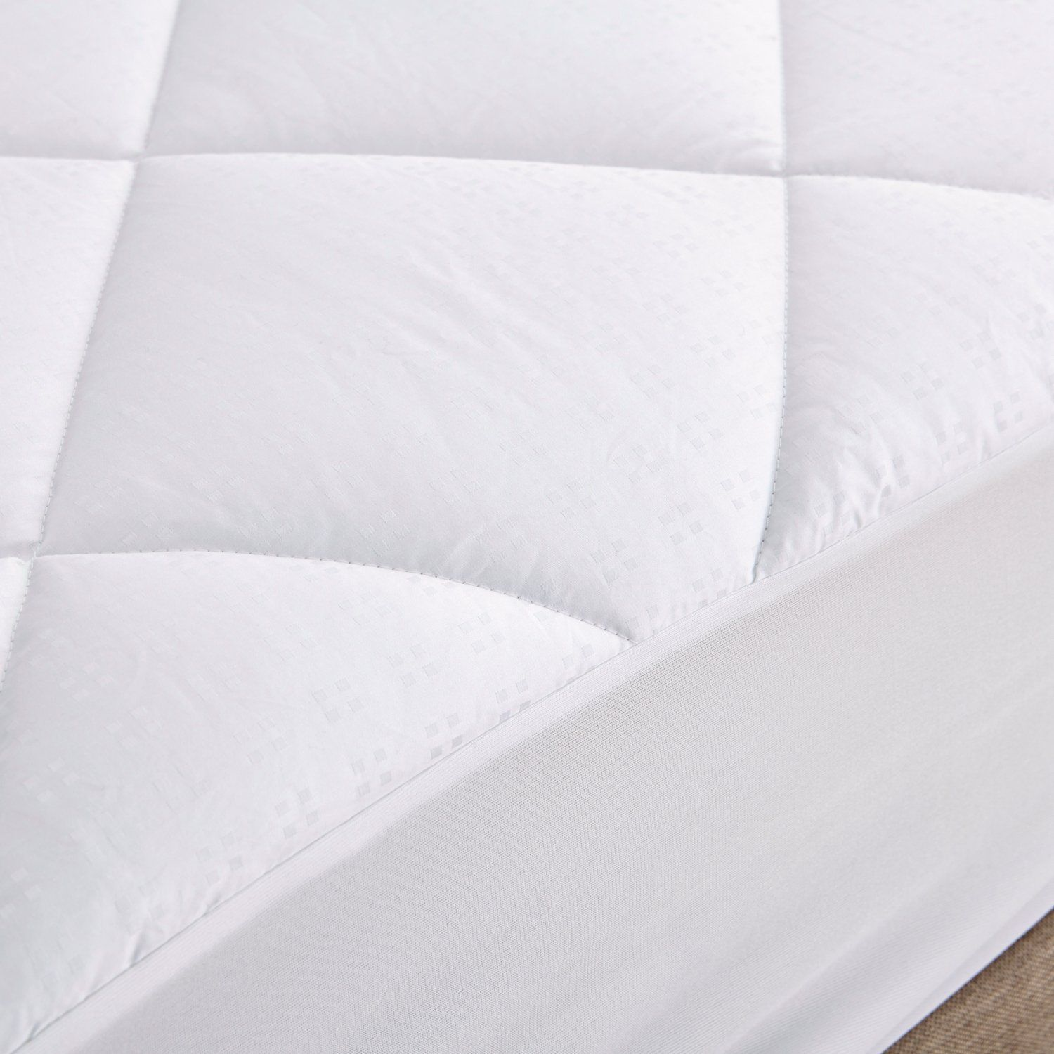 Mattress Pad Twin Size 100 Cotton Topper Pillow Top Bed Cover Comforter Bedroom Mattress Pads
