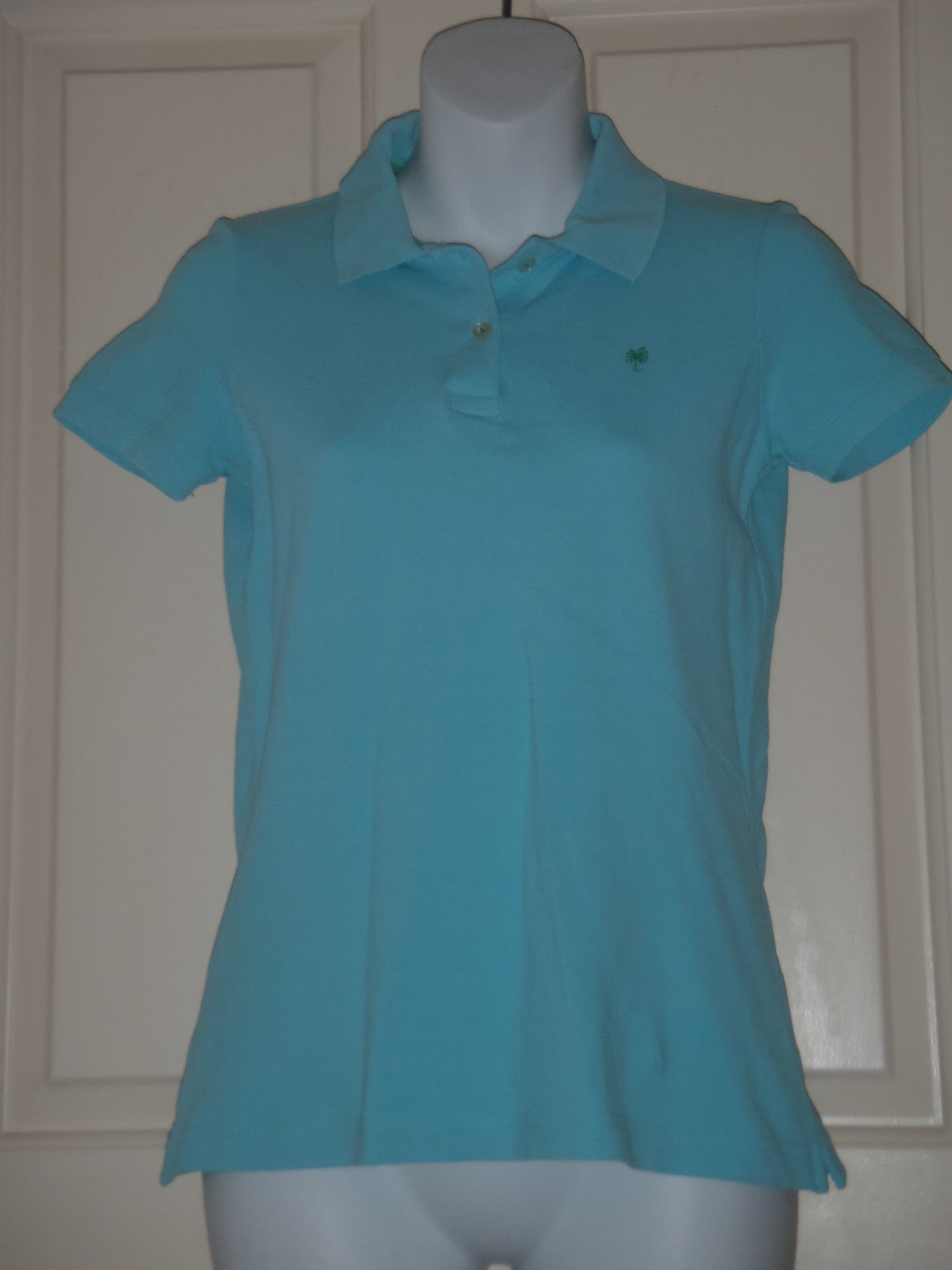 d8c9060aedd129 Lilly Pulitzer aqua blue short sleeve polo and 50 similar items
