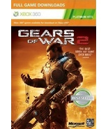 Gears of War 2 xbox 360 game Full download card... - $5.88