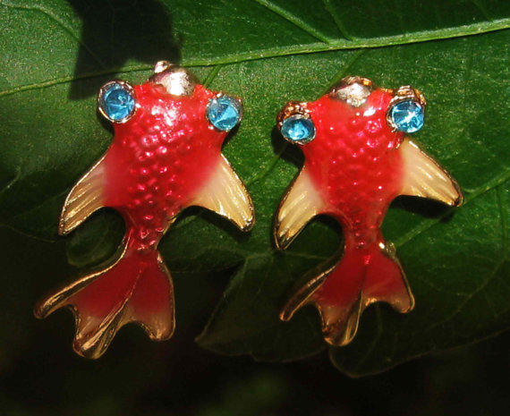 Haunted lucky koi fish earrings free with and 18 similar items for Lucky koi fish