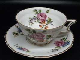Haviland Limoges tea cup and saucer CHANTILLY excellent condition no gold loss - $25.00