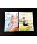 Malibu Pilates and Stott Pilates 2 Fitness DVDs for High Intensity and B... - $14.01