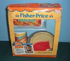 Vintage Fisher Price Fun-with-Food #2136 Homema... - $35.99