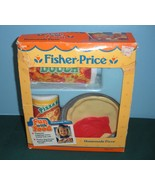 Vintage Fisher Price Fun-with-Food #2136 Homema... - $35.99