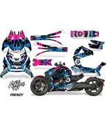 Full Body Wrap Graphic Sticker Decal for Can-Am Ryker 2019 - Frenzy Blue - $287.05