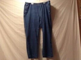 Used Great Condition Orvis XLP 100% Cotton Elastic Waist Blue Jeans