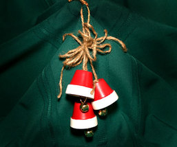 Handcrafted Christmas Bell Ornament - $7.99