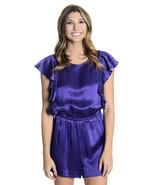NWT Juliette Longuet Ultra Violet Santorini Sho... - $52.00