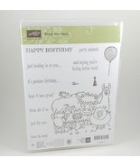 Stampin Up FROM THE HERD Happy Birthday Card Photopolymer Stamp set  - $37.39