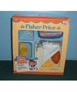 Vtg Fisher Price Fun-with-Food #2138 TV Dinner Complete w/Box/NEAR MINT! (D) - $28.99