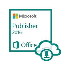 Microsoft Publisher 2016 For Windows   Electron... - $79.90