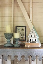 "Cottage Shabby Distressed 6 Door Decorative Wood Birdhouse 13""H - $37.39"