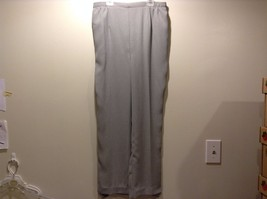 Used Great Condition Draper's and Damon's Large 100% Polyester Gray Pants