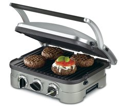 Countertop 5 in 1 Griddler Penini Press Grill Compact Steak Chicken Burger Vegie - $99.99