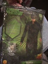 Kato Green Hornet Movie Superhero Valet XL Halloween Deluxe Adult Costume - $22.67