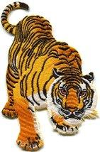 Tiger Cat Puma Jaguar Lion Animal Wildlife Large Applique Iron-on Patch ... - $9.31