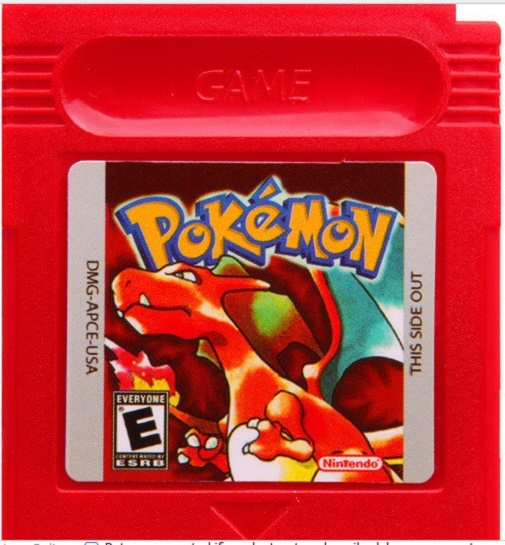 Pokemon Cartridge Game Card Red Silver Yellow Blue Gold and All Version More Fun