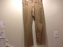 Used Great Condition Op Slim Straight 32 x 30 Khaki 100% Cotton 4 Pockets - $49.49