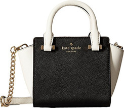 Kate Spade New York Women's Cedar Street Mini Hayden Black/Cement Satche... - ₨10,383.71 INR